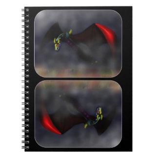 Wyvern Flight (colour) Notebook