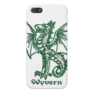 Wyvern medieval heraldry case for iPhone SE/5/5s