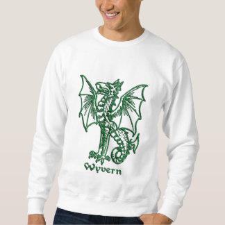 Wyvern medieval heraldry sweatshirt