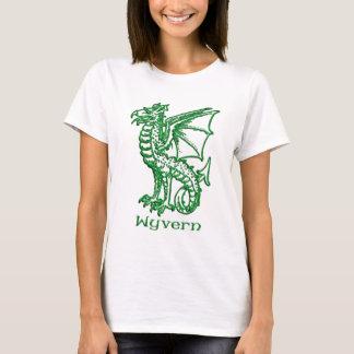 Wyvern medieval heraldry T-Shirt
