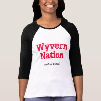 Wyvern Nation, vincit qui se vincit Tee Shirt