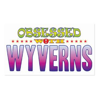 Wyverns 2 obsesionados tarjetas de visita