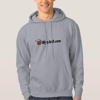 WyzAnt Classic Hoodie Sweatshirt - Grey