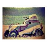 Wz 34 del Ursus del vehículo ligero blindado Tarjetas Postales