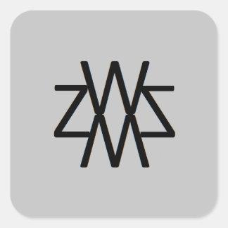 WZSM Logo Sticker