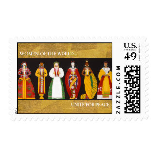 X004_Women of the World, WOMEN OF THE WORLD...,... Postage Stamp