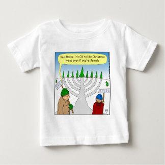 x04 Jews like Christmas too - cartoon Baby T-Shirt