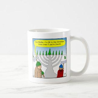 x04 Jews like Christmas too - cartoon Coffee Mug