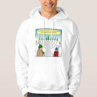 x04 Jews like Christmas too - cartoon T-Shirt