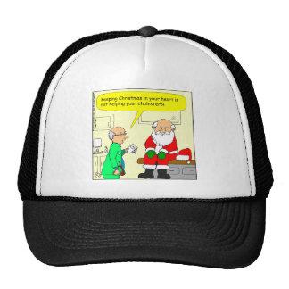 x15 christmas in your heart cartoon trucker hat