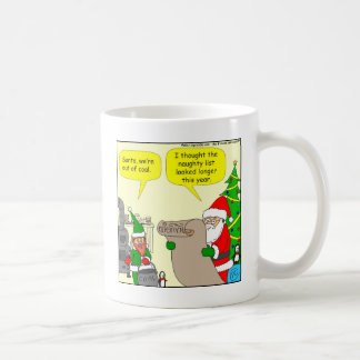x17 no coal cartoon coffee mug