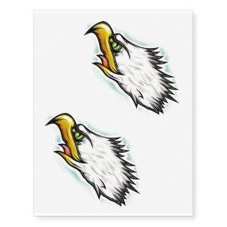 x2 american eagle temporary tattoo