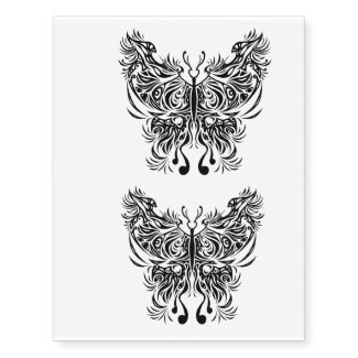 x2 temporary tattoo butterfly3