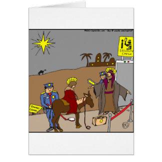 x31 mary joseph security check cartoon card