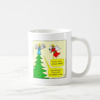 x42 angel extra money cartoon coffee mug