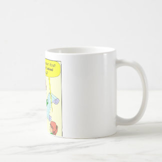 x43 santa works for NSA cartoon Coffee Mug