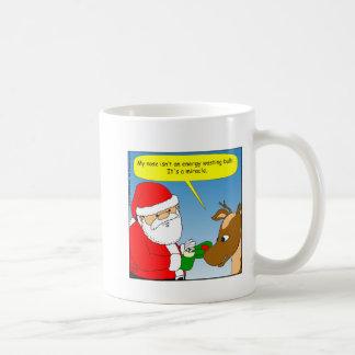 x64 rudolph energy efficient bulb cartoon coffee mug