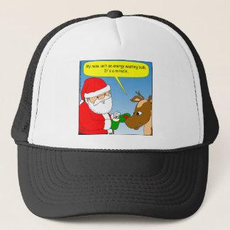 x64 rudolph energy efficient bulb cartoon trucker hat
