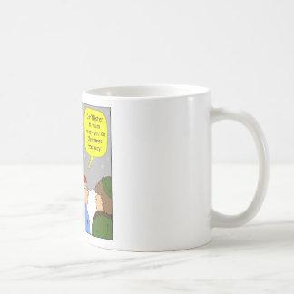 x72 Do christmas your way cartoon Coffee Mug