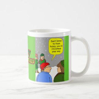 x72 You do Christmas your way Coffee Mug