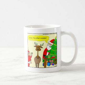 x79 olive the other reindeer cartoon coffee mug