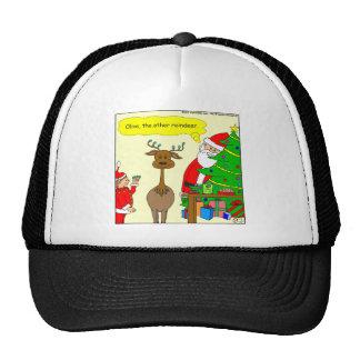 x79 olive the other reindeer cartoon trucker hat