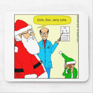 x80 cute eye doctor chart cartoon mouse pad