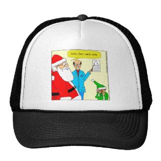 x80 cute eye doctor chart cartoon trucker hat