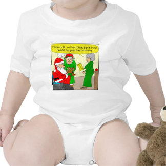 x82 Rudolph has gone down in History Class cartoon Baby Bodysuits