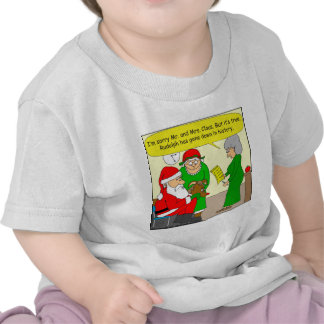 x82 Rudolph has gone down in History Class cartoon Tees