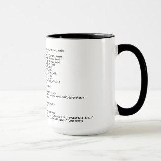 """x86 Assembly """"Amount of Coffee"""" Mug"""