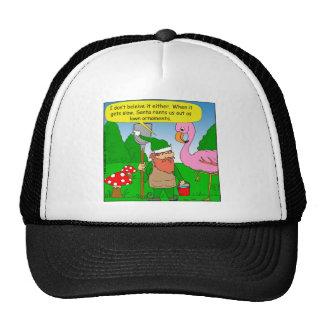 x86 elf lawn ornament cartoon trucker hat