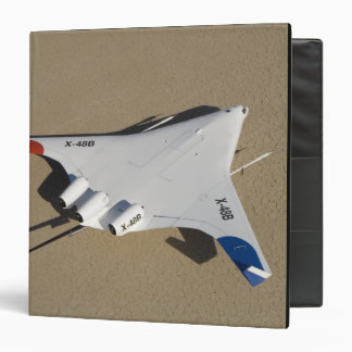X-48B Blended Wing Body unmanned aerial vehicle 2 3 Ring Binder