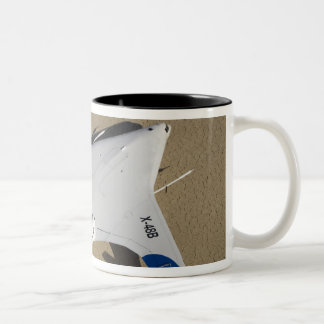 X-48B Blended Wing Body unmanned aerial vehicle 2 Two-Tone Coffee Mug