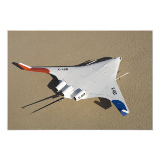 X-48B Blended Wing Body unmanned aerial vehicle 2 Photo Print