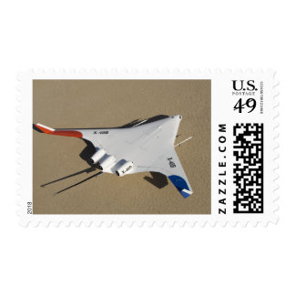 X-48B Blended Wing Body unmanned aerial vehicle 2 Postage Stamp