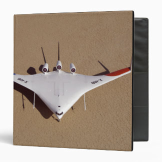 X-48B Blended Wing Body unmanned aerial vehicle 3 3 Ring Binder