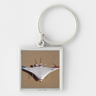 X-48B Blended Wing Body unmanned aerial vehicle 3 Keychain