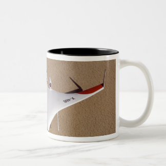 X-48B Blended Wing Body unmanned aerial vehicle 3 Two-Tone Coffee Mug
