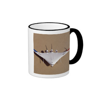 X-48B Blended Wing Body unmanned aerial vehicle 3 Ringer Coffee Mug