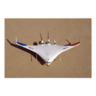 X-48B Blended Wing Body unmanned aerial vehicle 3 Photo Print