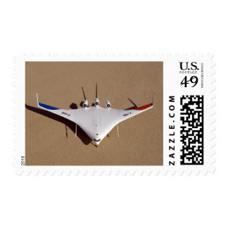 X-48B Blended Wing Body unmanned aerial vehicle 3 Stamps