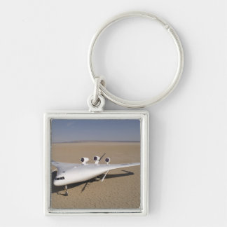 X-48B Blended Wing Body unmanned aerial vehicle 4 Keychain