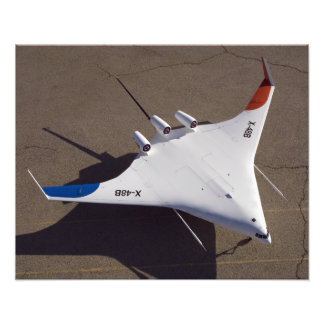 X-48B Blended Wing Body unmanned aerial vehicle 4 Photo Print