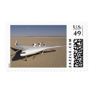 X-48B Blended Wing Body unmanned aerial vehicle 4 Stamp