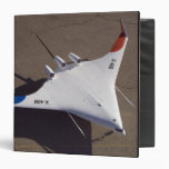X-48B Blended Wing Body unmanned aerial vehicle 3 Ring Binder