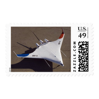 X-48B Blended Wing Body unmanned aerial vehicle Stamp