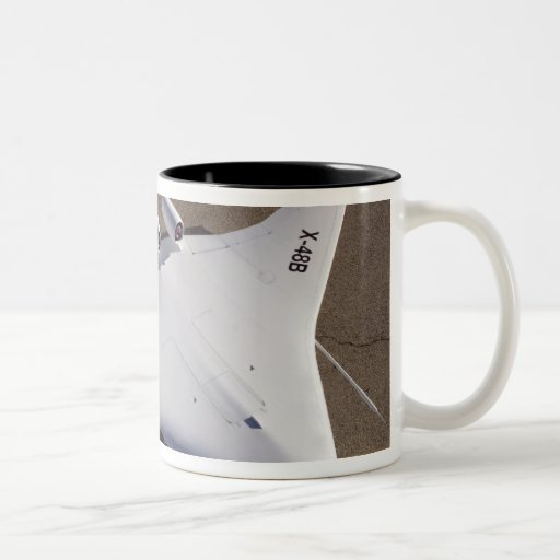 X-48B Blended Wing Body unmanned aerial vehicle Two-Tone Coffee Mug
