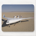 X-48B mezcló el vehículo aéreo acobardado cuerpo 4 Alfombrillas De Ratones