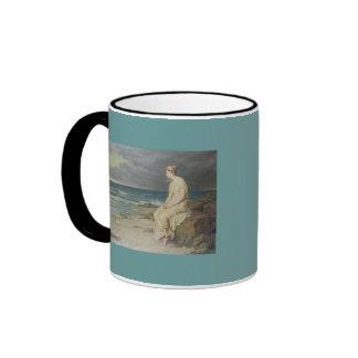 x-5 navy girl mug